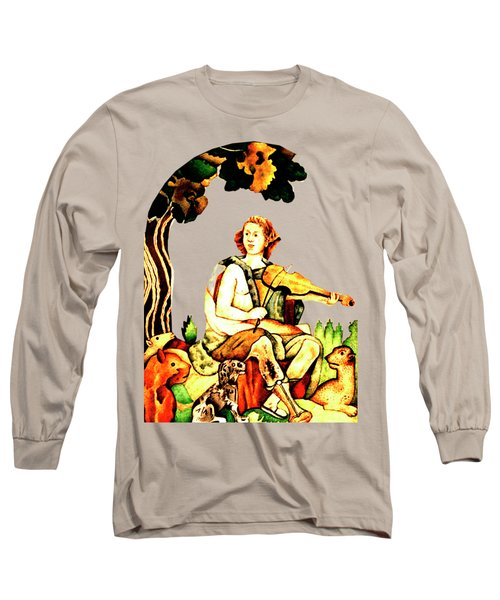 Orpheus Long Sleeve T-Shirt by Asok Mukhopadhyay