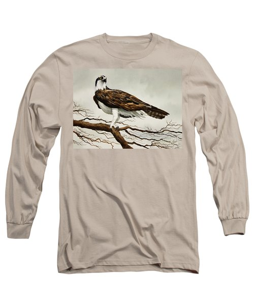 Osprey Sea Hawk Long Sleeve T-Shirt by James Williamson