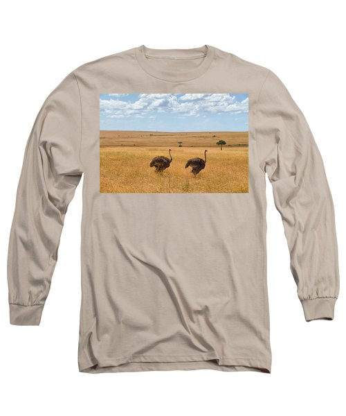 Ostrich Long Sleeve T-Shirt