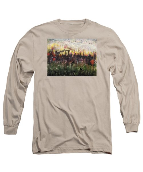 Other World 2 Long Sleeve T-Shirt by Ron Richard Baviello