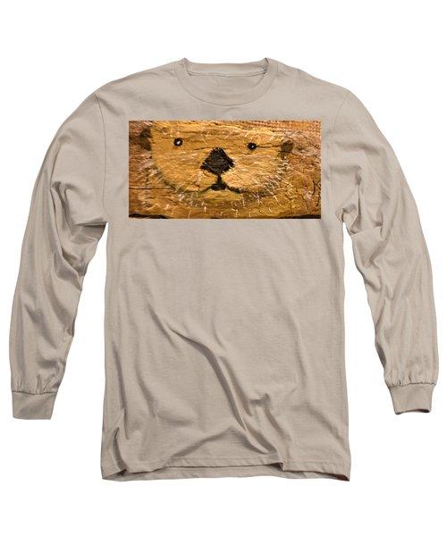 Otter Long Sleeve T-Shirt by Ann Michelle Swadener