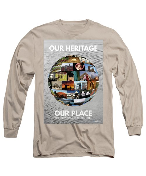 Our Heritage Our Place Long Sleeve T-Shirt