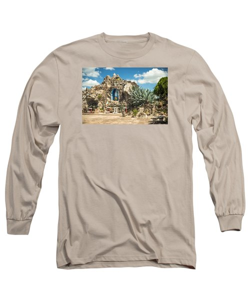 Our Lady Of Lourdes Grotto Long Sleeve T-Shirt