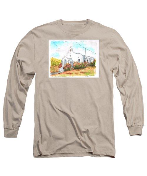 Our Lady Of Mount Carmel Catholic Church, Carmel,california Long Sleeve T-Shirt