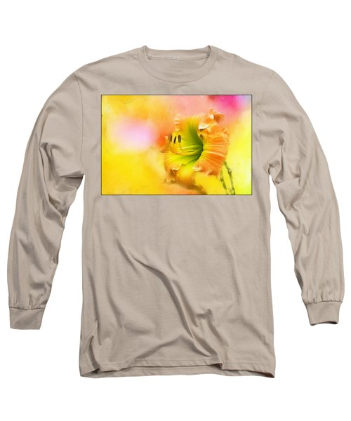 Out Of Yellow Long Sleeve T-Shirt