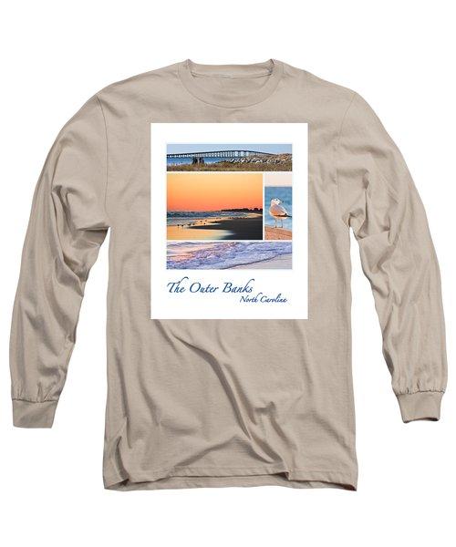 Outer Banks North Carolina Long Sleeve T-Shirt by Joni Eskridge
