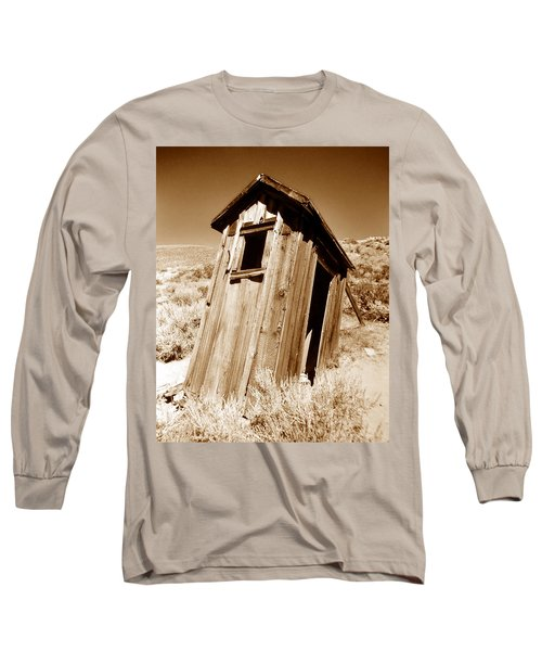 Outhouse At Bodie Long Sleeve T-Shirt