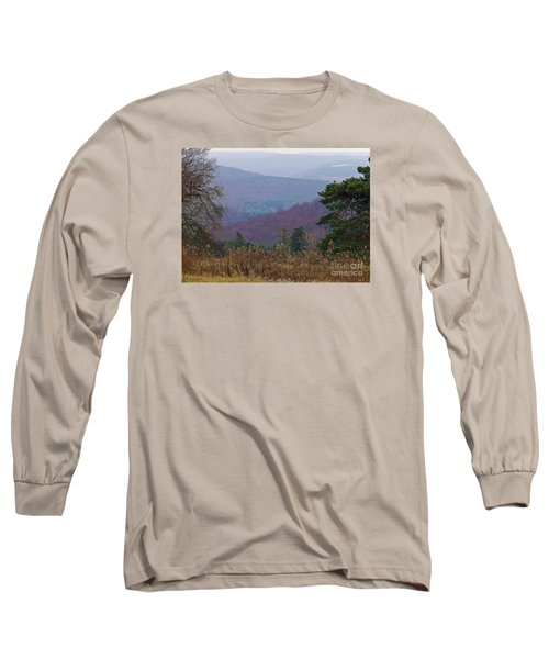 Over And Over And Over Long Sleeve T-Shirt by Christian Mattison