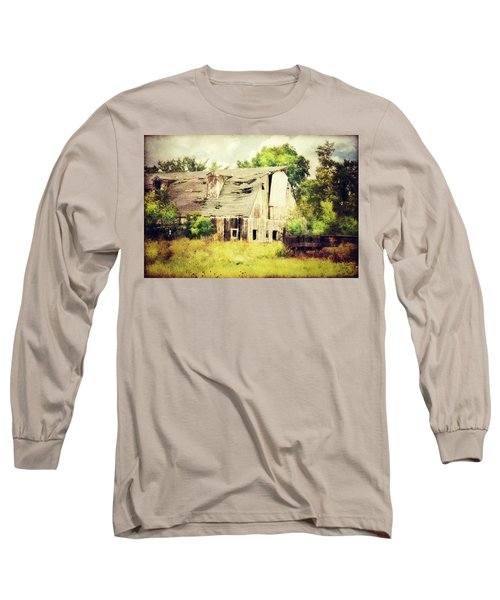 Over Grown Long Sleeve T-Shirt by Julie Hamilton