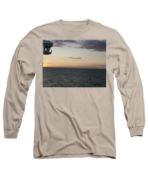 Over The Edge Photo/painting Long Sleeve T-Shirt