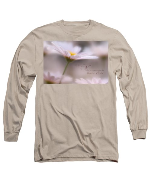 Over The Top With Message Long Sleeve T-Shirt