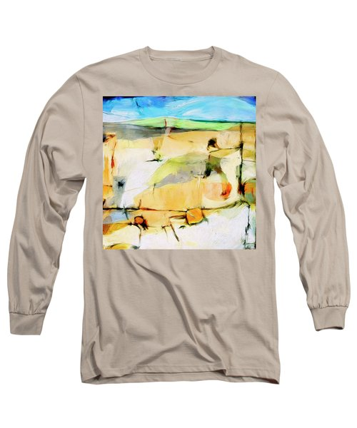 Long Sleeve T-Shirt featuring the painting Overlook by Dominic Piperata