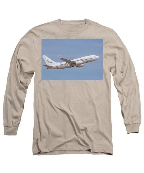 P4-kaz Kazakhstan Government 737 Long Sleeve T-Shirt