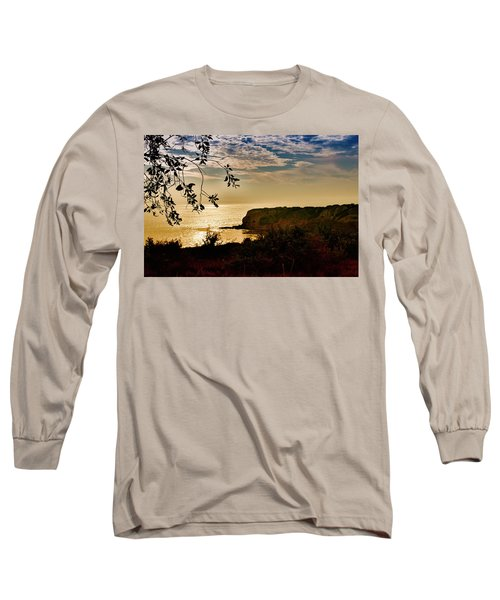 Long Sleeve T-Shirt featuring the photograph Pacific Cove Paradise by Joseph Hollingsworth