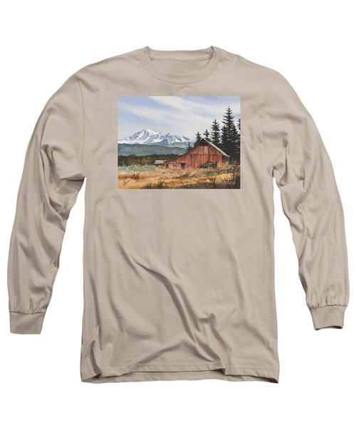 Pacific Northwest Landscape Long Sleeve T-Shirt by James Williamson