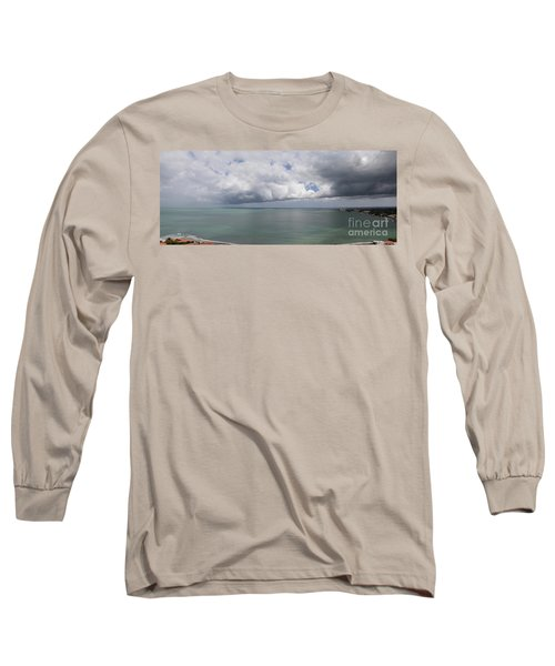Pacific Storm Panorama Long Sleeve T-Shirt