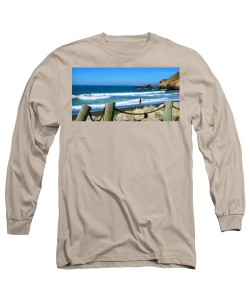 Long Sleeve T-Shirt featuring the photograph Pacifica Coast by Glenn McCarthy Art and Photography