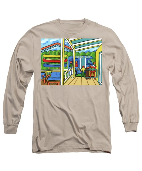 Paddle Taxi - Rum 138 Long Sleeve T-Shirt