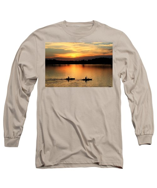 Paddling Back To Camp Long Sleeve T-Shirt