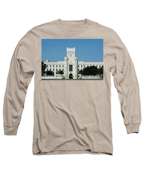 Padgett-thomas Barracks Long Sleeve T-Shirt by Ed Waldrop