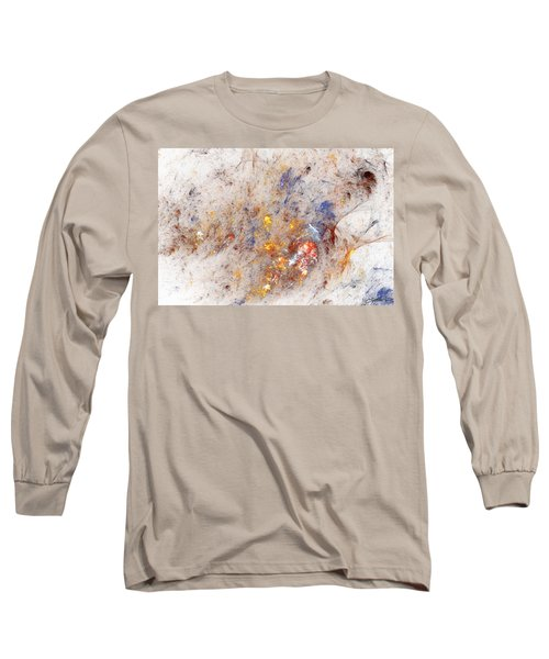 Paean To Pollack Long Sleeve T-Shirt by Casey Kotas