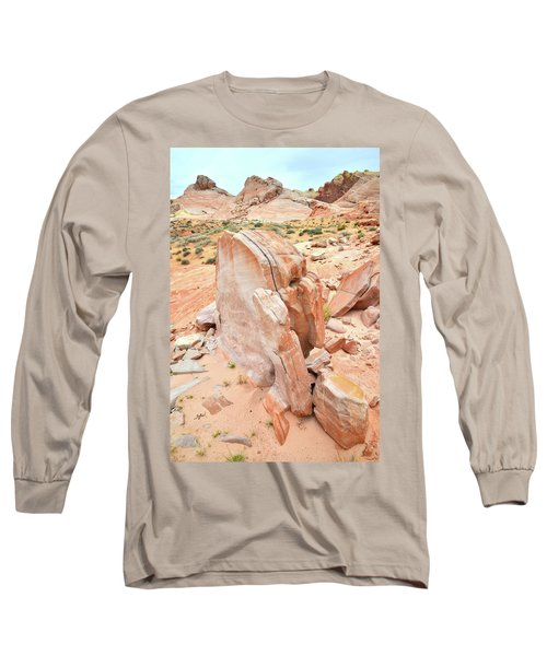 Long Sleeve T-Shirt featuring the photograph Pages Of Stone In Valley Of Fire by Ray Mathis