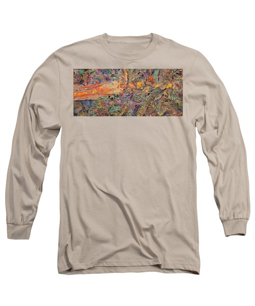 Paint Number 34 Long Sleeve T-Shirt