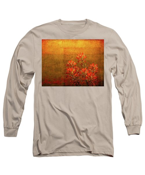 Paintbrush On The Horizon Long Sleeve T-Shirt