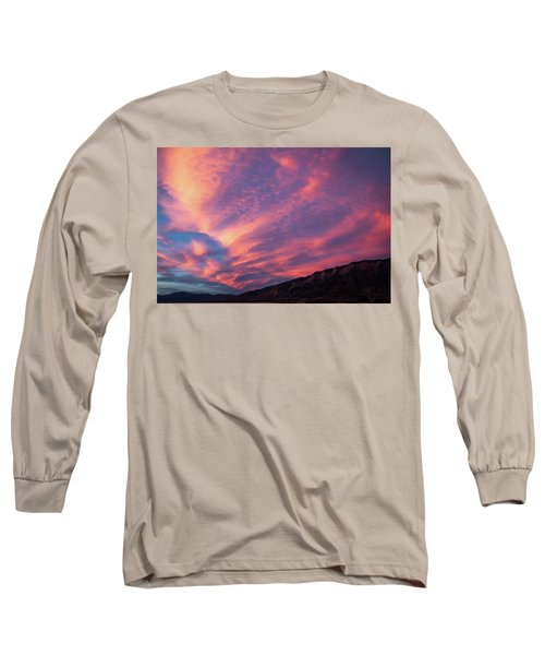 painted by Sun Long Sleeve T-Shirt by Hyuntae Kim