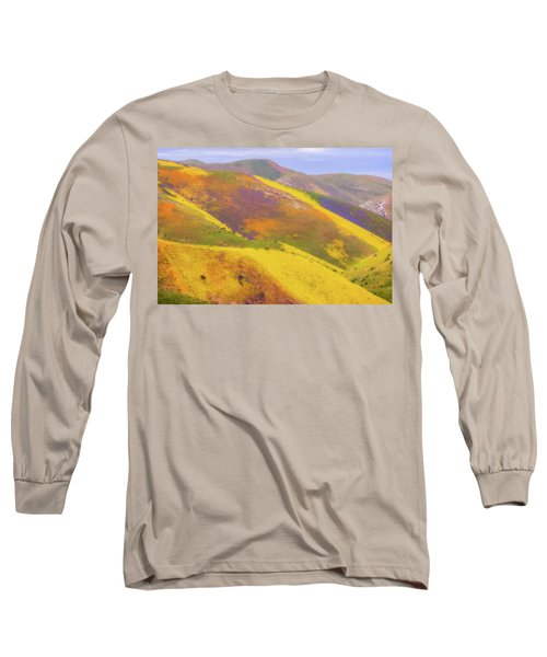 Painted Hills Long Sleeve T-Shirt by Marc Crumpler