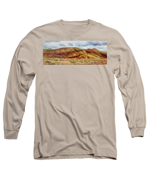 Painted Hills Panorama 2 Long Sleeve T-Shirt