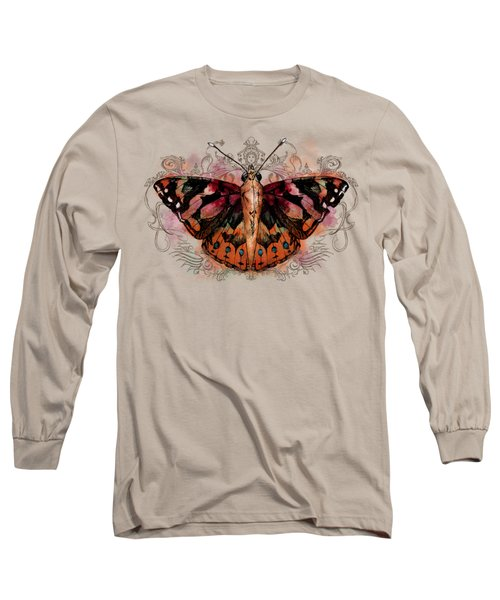 Painted Lady II Long Sleeve T-Shirt