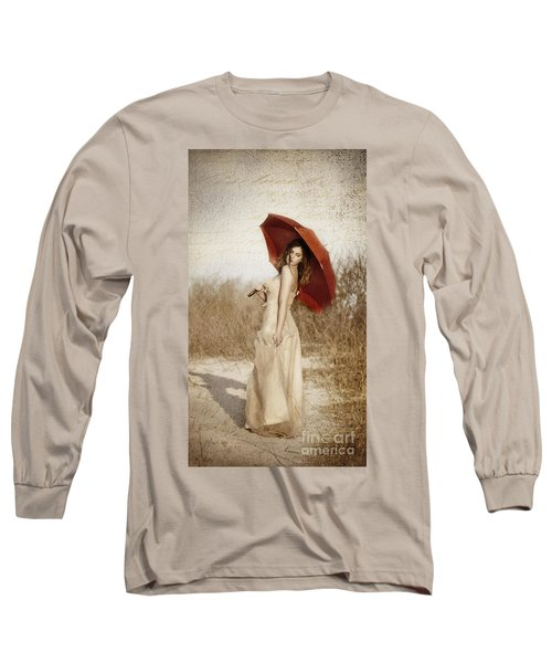 Painted Lady Narrow Long Sleeve T-Shirt