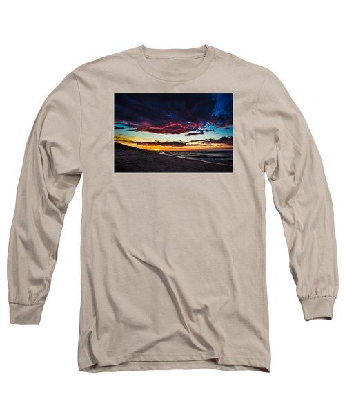 Painted Sky Long Sleeve T-Shirt by Peter Scott