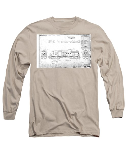Painting And Lettering Diagramgp30 Long Sleeve T-Shirt