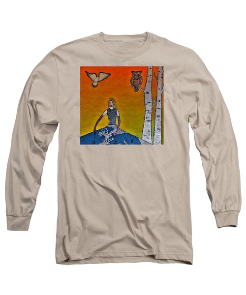 Painting On A Sunny Day Long Sleeve T-Shirt