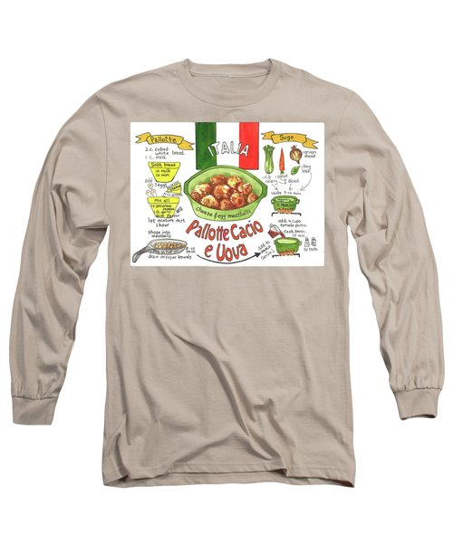 Pallotte Cacio Long Sleeve T-Shirt