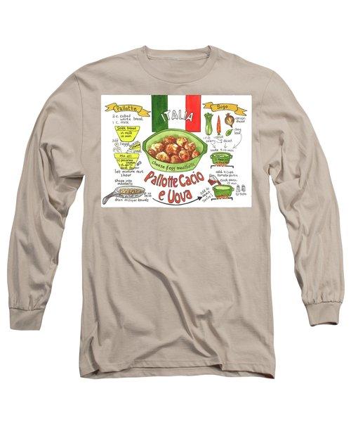 Pallotte Cacio Long Sleeve T-Shirt