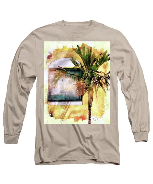 Palm And Window Long Sleeve T-Shirt
