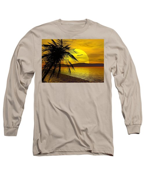 Palm Beach Long Sleeve T-Shirt