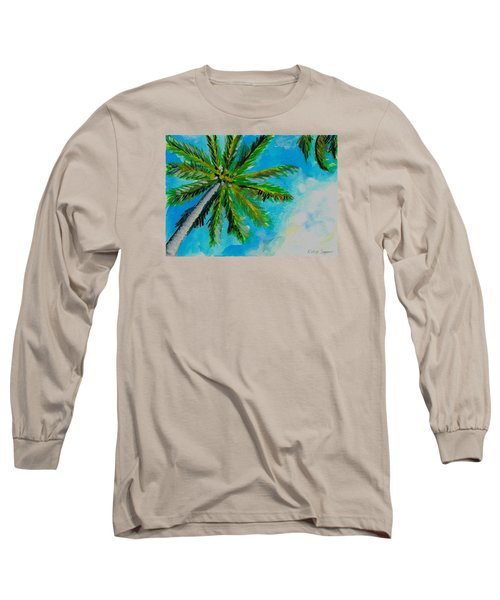 Palm In The Sky Long Sleeve T-Shirt