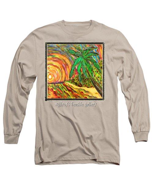 Palm Sunrise Sunset Long Sleeve T-Shirt