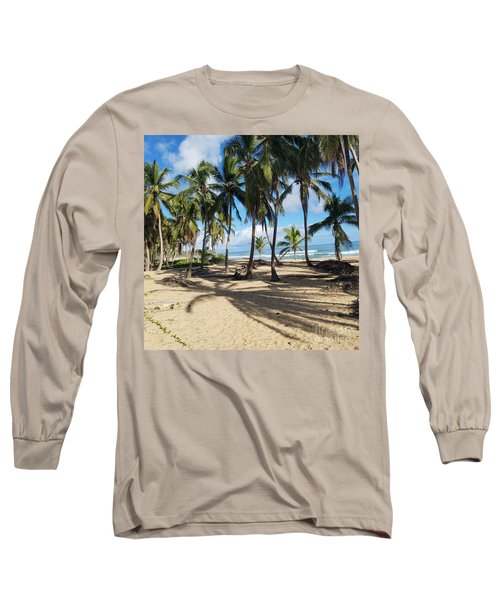 Palm Tree Family Long Sleeve T-Shirt