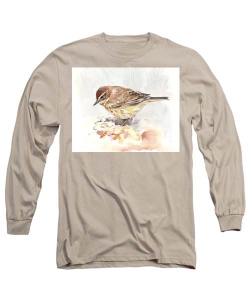 Palm Warbler Long Sleeve T-Shirt