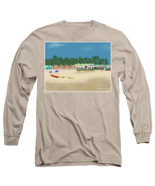 Palolem Beach Goa Long Sleeve T-Shirt