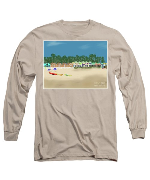 Palolem Beach Goa Long Sleeve T-Shirt