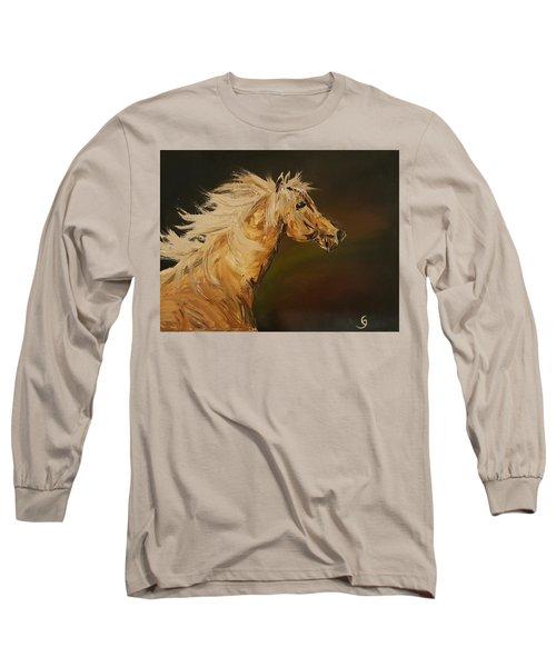 Palomino Running Wild                     85 Long Sleeve T-Shirt