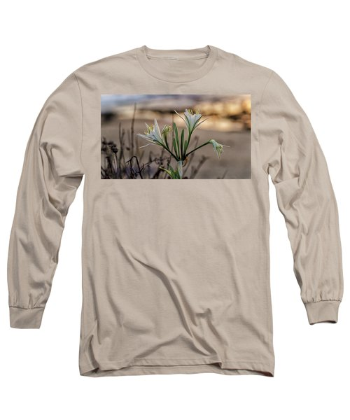 Pancratium Maritimum L. Long Sleeve T-Shirt