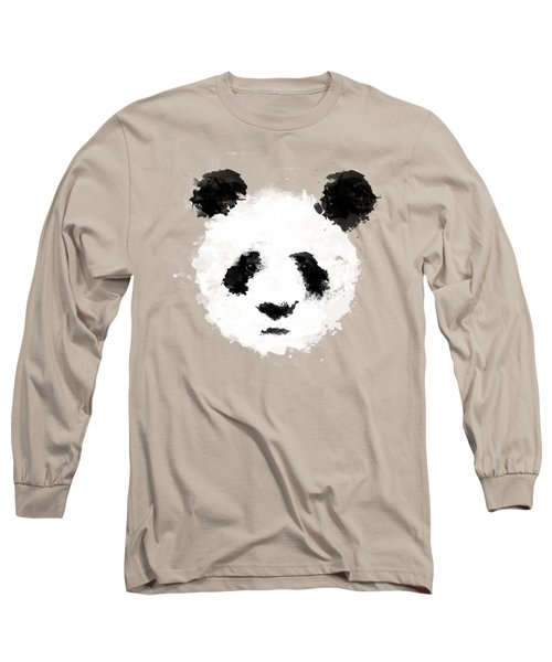Panda Long Sleeve T-Shirt by Mark Rogan