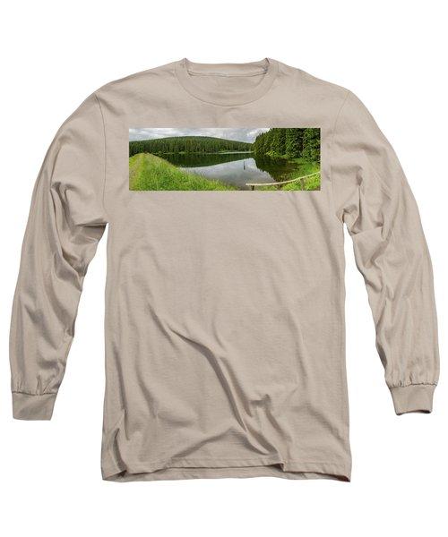 Panorama Liebesbankweg, Harz Long Sleeve T-Shirt